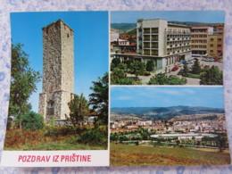 Kosovo - Unused Postcard - Pristina - Monument To Heroes Of Kosovo - Panorama - Kosovo