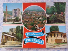Kosovo - Unused Postcard - Prizren - Multiview - Panorama - Mosque - Bridge - Kosovo