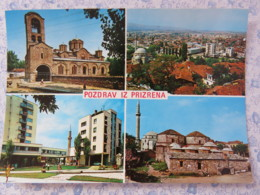 Kosovo - Unused Postcard - Prizren - Multiview - Mosque - Church - Panorama - Kosovo