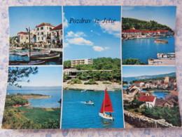 Slovenia - Unused Postcard - Jelse - Multiview - Coast - Boats - Slovénie