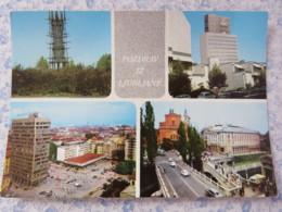 Slovenia - Unused Postcard - Ljubljana - Multiview - Church - Buildings - Statue - Slovénie