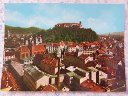 Slovenia - Unused Postcard - Ljubljana - Panorama - Castle - Slovénie