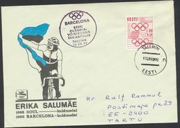 50-515 Estonia Barcelona Olympics 1992 - Estonie