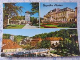 Slovenia - Unused Postcard - Rogaska Slatina - Multiview - Palace - Slovénie