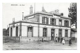 61/ ORNE... BRIOUZE: La Gare - Briouze