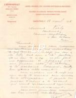 26-1575    1895 CAFES POIVRES RIZ SUCRES EXOTIQUES ET INDIGENES E BERNHARD A LEVALLOIS PERRET - M. PERLY A PARIS - 1800 – 1899