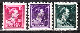 724N/P**  Leopold III Col Ouvert Surchargé -10% - TERVUEREN - Série Complète - MNH** - LOOK!!!! - 1946 -10%
