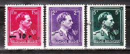 724N/P**  Leopold III Col Ouvert Surchargé -10% - TOURNAI - Série Complète - MNH** - LOOK!!!! - 1946 -10%