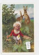 CPA ( Rare)   -37127- Allemagne (Heinzelmännchen) - Belle Illustration Nain (s) Signée O. Herrfurth - Illustrateurs & Photographes