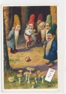 CPA ( Rare)   -37124- Allemagne (Heinzelmännchen) - Belle Illustration Nain (s) Signée O. Herrfurth - Illustrateurs & Photographes