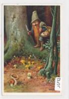 CPA ( Rare)   -37125- Allemagne (Heinzelmännchen) - Belle Illustration Nain (s) Signée O. Herrfurth - Illustrateurs & Photographes
