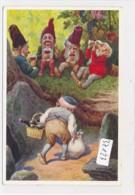 CPA ( Rare)   -37123- Allemagne (Heinzelmännchen) - Belle Illustration Nain (s) Signée O. Herrfurth - Illustrateurs & Photographes