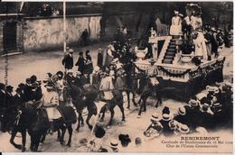REMIREMONT-CAVALCADE 1909-LE CHAR DE L'UNION COMMERCIALE - Remiremont