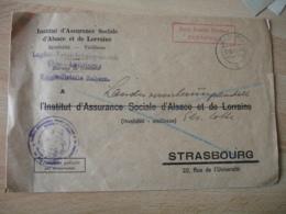 1940 Lettre De Zabern A Strasbourg Occupation Alsace Guerre 39.45 - Marcophilie (Lettres)