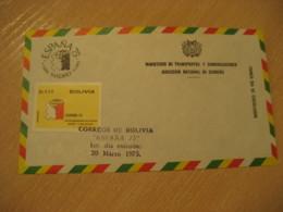Madrid Spain 1975 FDC Cancel Cover BOLIVIA - Bolivia