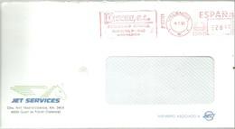 FRANQUEO MECANICO   1993 VALENCIA - Marcofilia - EMA ( Maquina De Huellas A Franquear)
