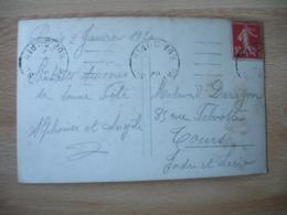 Flamme Garcia Paris 80 Rue Dupin Flamme Sur Lettre - Marcophilie (Lettres)