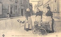 Types Du Centre - Groupe De Laitières Des Environs De Blois - Cecodi N'919 - Blois