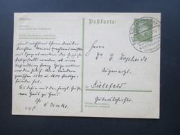 Deutsches Reich 1932 GA P199 Mit Sonderstempel Versmold Seit 100 Jahren Bekannt Durch Feinste Westfälische Dauerwurst - Briefe U. Dokumente