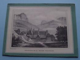 Monastère De La Grande CHARTREUSE ( Alexandre Debelle ) LIQUEUR ( Voir Photo Svp ) Depliant ! - Reclame