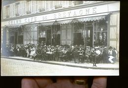 PARIS ? GRAND CAFE DE BRETAGNE    CP PHOTO                   JLM - Petits Métiers à Paris
