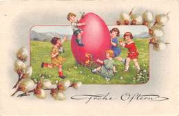 Frohe Ostern -  Kinder - Ei - Pasqua