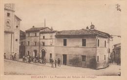 Marche Macerata Recanati La Piazza Del Sabato Del Villaggio -- Animata - Macerata