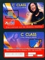MALI - Mint/Unused SIM Card With Intact Chip - C Class Malitel - Mali