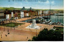 N°68451 -cpa Le Havre -bassin Du Commerce- - Port