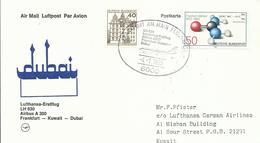 ALEMANIA, SOBRE AEREO VUELO A  KUWAIT - [7] República Federal