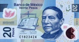 Mexico 20 Pesos 2006 Pick 122 UNC - Mexico