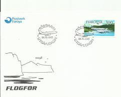 FEROES, SOBRE  AEREO - Islas Faeroes