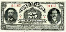 Mexico 25 Centavos 1915 Pick S1069 UNC - Mexico