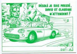 VEYRI - Mickaël JAKSON - Voiture Ferrari - Carte De Naissance Sizler - 1990 - Voir Scan - Veyri, Bernard