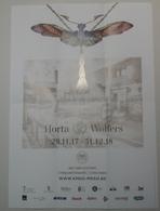 Exposition Horta & Wolfers-  Bijoux Art Nouveau - MRAH, Brussels 2018/9 - Affiches