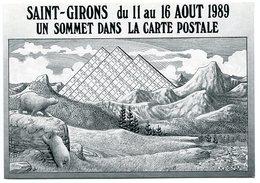 VEYRI - Saint-GIRONS - Les 6 Jours De La Carte Postale - 1989 - Ours - Pyrénées - Voir Scan - Veyri, Bernard