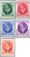 Ref. 286832 * HINGED * - ZANZIBAR. 1954. 75 ANIVERSARIO DEL SULTAN SEYYID KHALIFA BEN HAROUB - Zanzibar (...-1963)