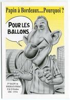 VEYRI - Carte Du Salon De BORDEAUX-PESSAC - 1996 - Jean-Pierre PAPIN - Foot-ball - Voir Scan - Veyri, Bernard