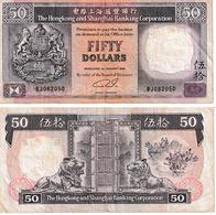 Hong Kong 50 Dollars - Hong Kong