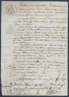 Monique Rescuard à Chinon, Pierre Gautier Maçon à Richelieu, Dame Chevallier à Neuil. - Manuscripts