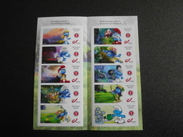 België Belgium 2018 - Smurfen 60 Jaar / Schtroumpfs / Comic Strip Smurfs 60th Anniversary Special Edition - Belgique