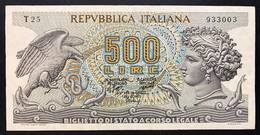 500 Lire Aretusa 1970  LOTTO 698 - [ 2] 1946-… : Repubblica