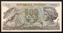 500 Lire Aretusa 1970 Sup  LOTTO 721 - [ 2] 1946-… : Républic