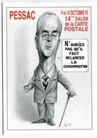 VEYRI - PESSAC - 14° Salon De La Carte Postale - Edouard BALLADUR - 1993  - Voir Scan - Veyri, Bernard