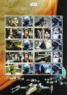 2015 Großbritannien Star Wars Collector Sheet ** MNH . - 1952-.... (Elizabeth II)