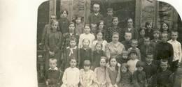 LITHUANIA   Varniai , Talat Kelpsiene Su Mokiniais 1927 - Lithuania