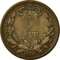 Monnaie, Danemark, Frederik VII, Skilling Rigsmont, 1856, Copenhagen, TTB - Danemark