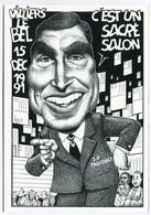 VEYRI - VILLIERS-le-BEL - Salon De La Carte Postale - Jean-Pierre Foucault  - 1991  - Voir Scan - Veyri, Bernard