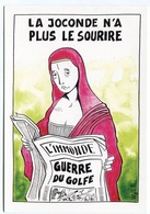 """VEYRI - MONA-LISA """"La Joconde N'a Plus Le Sourire""""  - Guerre Du Golfe - 1991  - Voir Scan - Veyri, Bernard"""