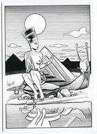 VEYRI - Sizi Egyptian Et Sa Compagne - Sizler - Escargot - Pyramide - 1987  - Voir Scan - Veyri, Bernard